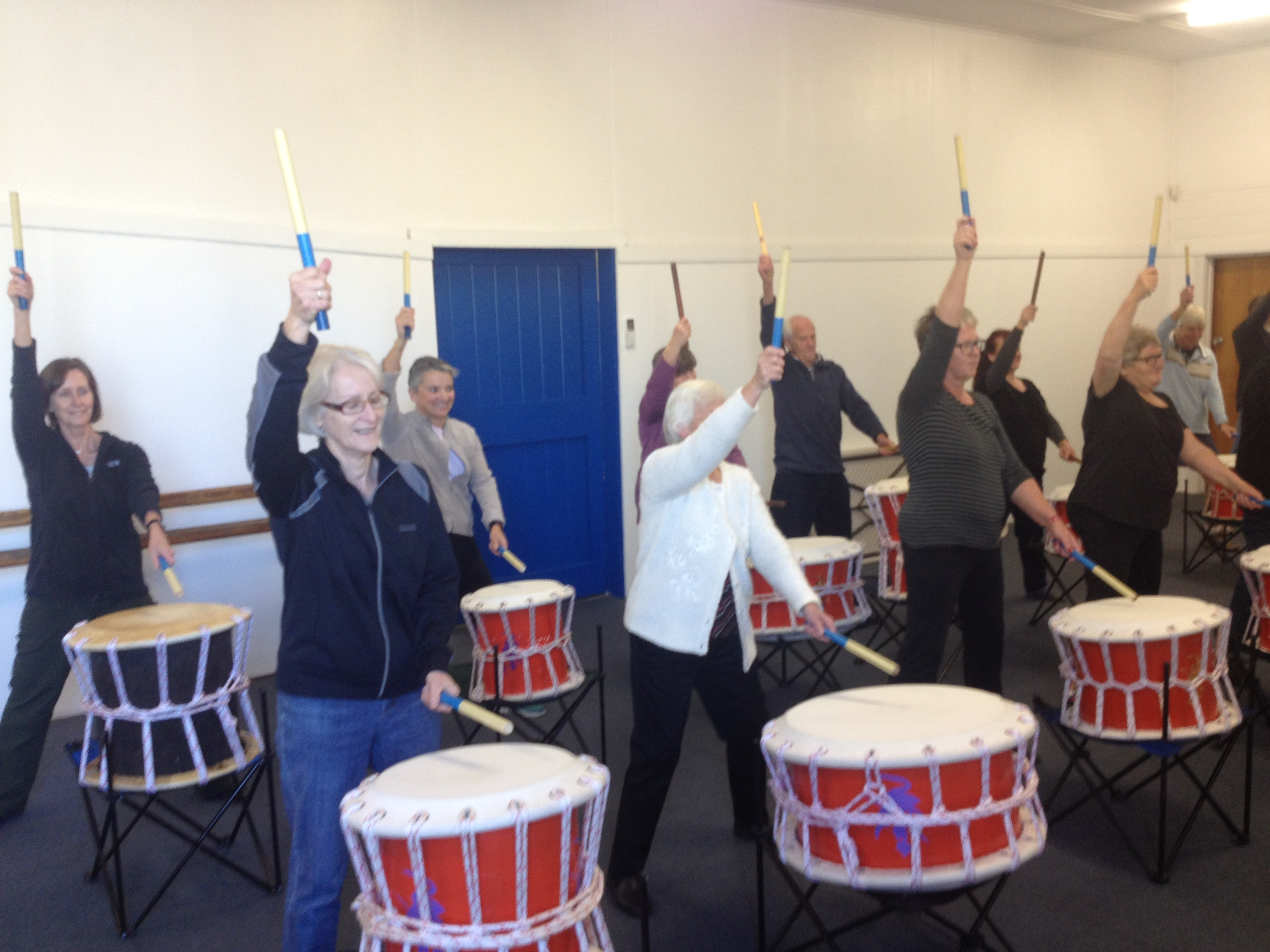 Taiko Drums at PCYC